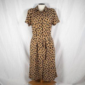 A New Day Leopard Shirtdress